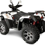 Linhai ATV-500-tagant külg valge