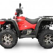 Linhai-ATV M550 punane külg