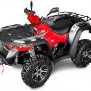Linhai-ATV M550 külg punane