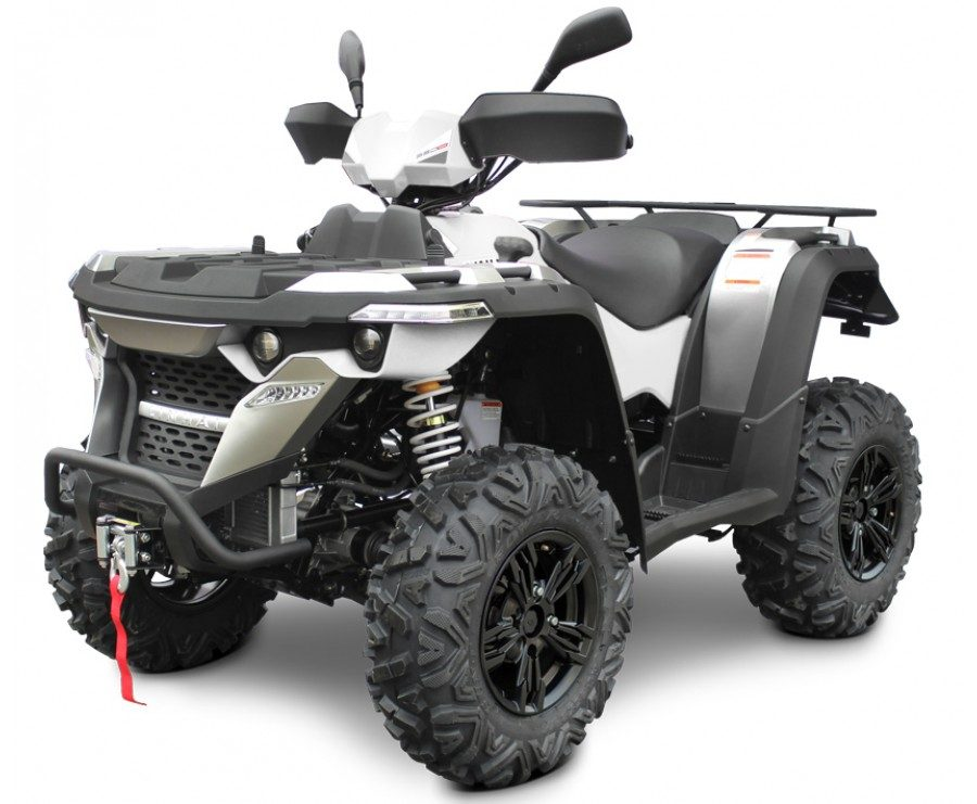 Linhai-ATV M550 eest külg valge